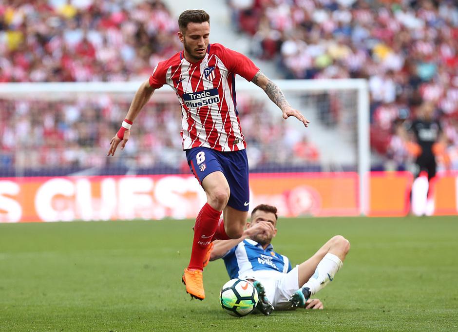 Temp. 17-18   Atlético de Madrid - Espanyol   Jornada 36   Saúl