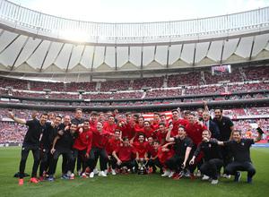 Temp 17/18 | Atlético de Madrid - Espanyol | Jornada 36 | Juvenil A