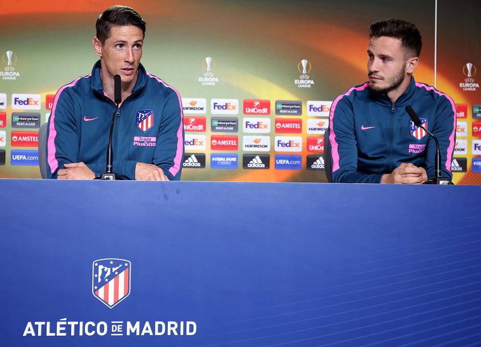 Temp 17/18 | Media Day | 09-05-18 | Wanda Metropolitano | Torres y Saúl
