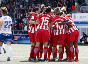 Temp 17/18 | Zaragoza CFF - Atlético de Madrid | Jornada 30 | Celebración