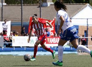 Temp 17/18 | Zaragoza CFF - Atlético de Madrid | Jornada 30 | Aurélie Kaci