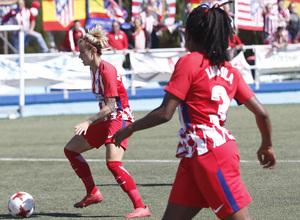 Temp 17/18 | Zaragoza CFF - Atlético de Madrid | Jornada 30 | Ludmila Da Silva y Ángela Sosa