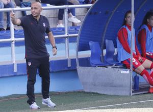 Temp 17/18 | Zaragoza CFF - Atlético de Madrid | Jornada 30 | Ángel Villacampa