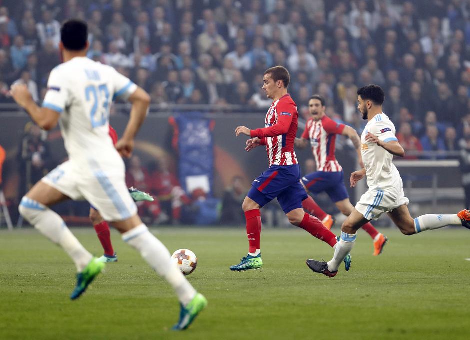 Temporada 17/18 | Final de Lyon de la Europa League | Olympique de Marsella - Atlético de Madrid | Griezmann