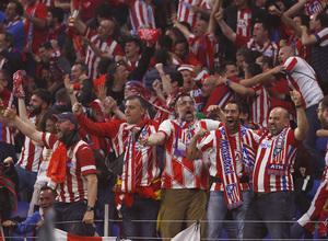 Temporada 17/18 | Final de Lyon de la Europa League | Olympique de Marsella - Atlético de Madrid | Afición