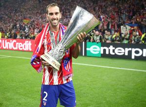 Temporada 17/18 | Final de Lyon de la Europa League | Olympique de Marsella - Atlético de Madrid | Godín