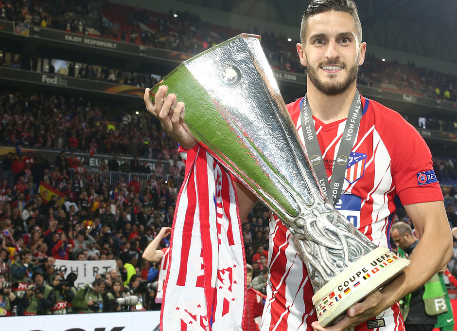 Temporada 17/18 | Final de Lyon de la Europa League | Olympique de Marsella - Atlético de Madrid | Koke