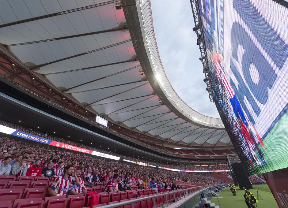 Temporada 17/18 | Final de Lyon de la Europa League en el Wanda Metropolitano | Pantallas
