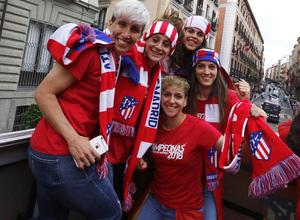 Temp 17/18 | Atlético de Madrid y Atlético de Madrid Femenino | 18-05-18 | Neptuno | Femenino