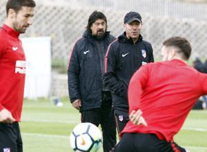 Temporada 17/18 | Entrenamiento del primer equipo | 19/05/2018 | Simeone
