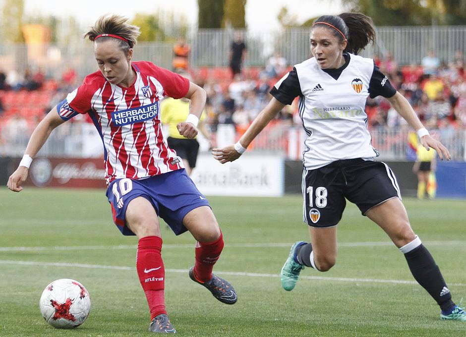Temporada 17/18 | Atlético de Madrid Femenino - Valencia | Ida de la Copa de la Reina | Amanda Sampedro