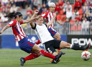 Temporada 17/18   Atlético de Madrid Femenino - Valencia   Ida de la Copa de la Reina   Kenti Robles