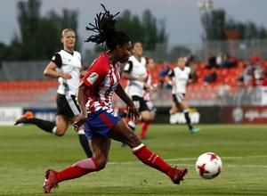 Temporada 17/18   Atlético de Madrid Femenino - Valencia   Ida de la Copa de la Reina   Ludmila Da Silva