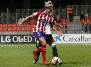 Temporada 17/18   Atlético de Madrid Femenino - Valencia   Ida de la Copa de la Reina   Ángela Sosa