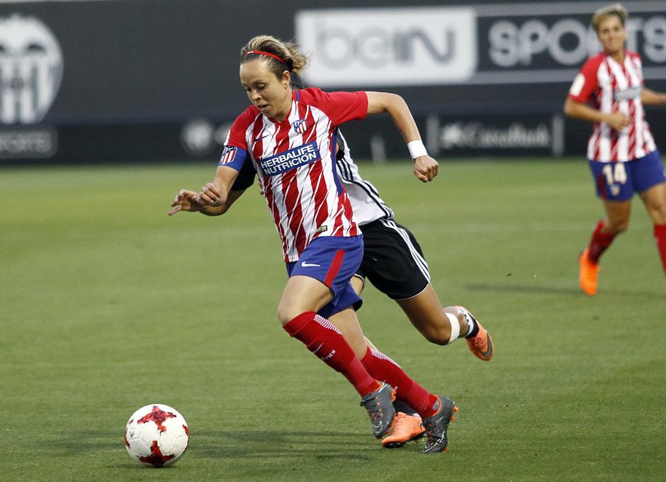 Temp 17/18   Valencia - Atlético de Madrid Femenino   Vuelta de cuartos de final de la Copa de la Reina   Amanda Sampedro