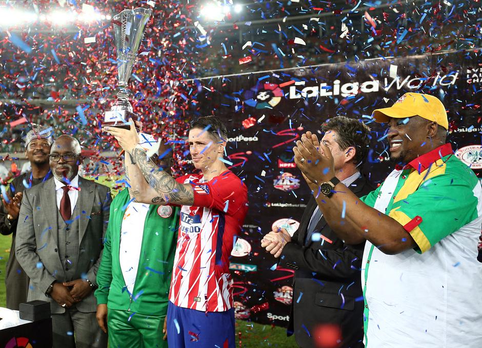 Temp 17/18 | Nigeria - Atlético de Madrid | Fernando Torres