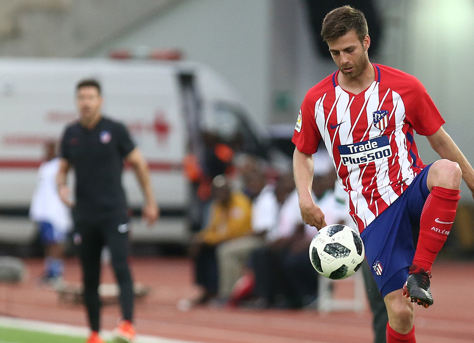 Temp 17/18 | Nigeria - Atlético de Madrid | Sergi