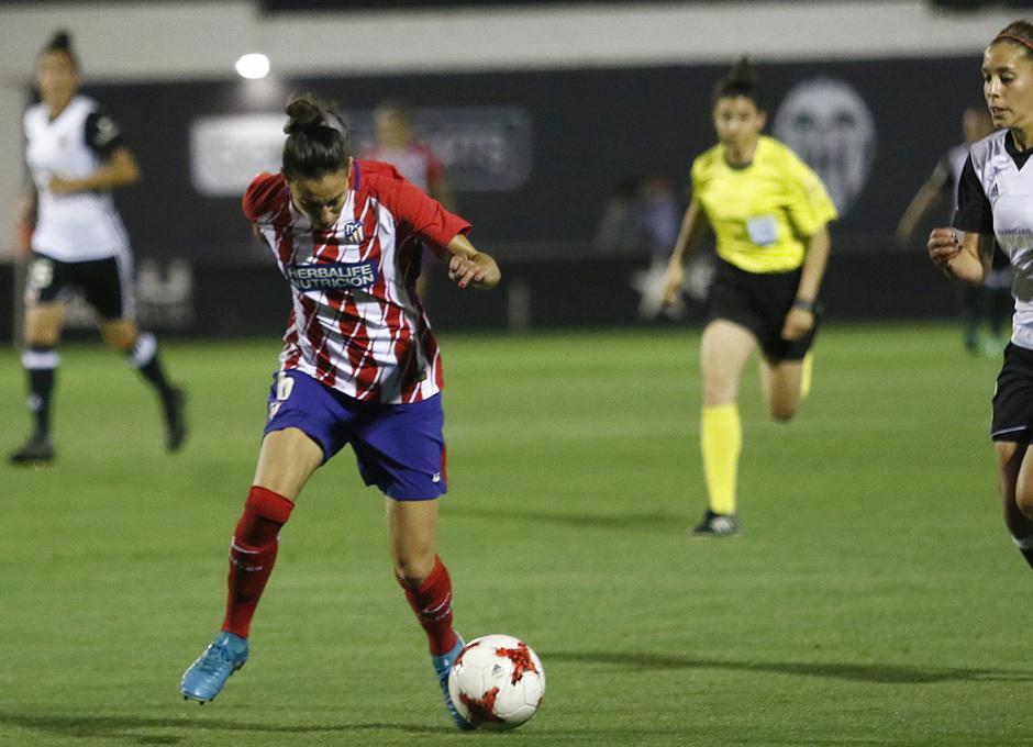 Temp 17/18   Valencia - Atlético de Madrid Femenino   Vuelta de cuartos de final de la Copa de la Reina   Aurélie Kaci