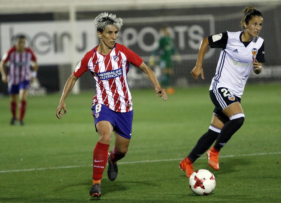Temp 17/18   Valencia - Atlético de Madrid Femenino   Vuelta de cuartos de final de la Copa de la Reina   Sonia Bermúdez