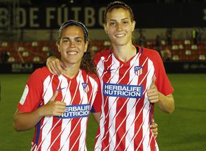 Temp 17/18 | Valencia - Atlético de Madrid Femenino | Vuelta de cuartos de final de la Copa de la Reina | Falcón y Laura Fernández