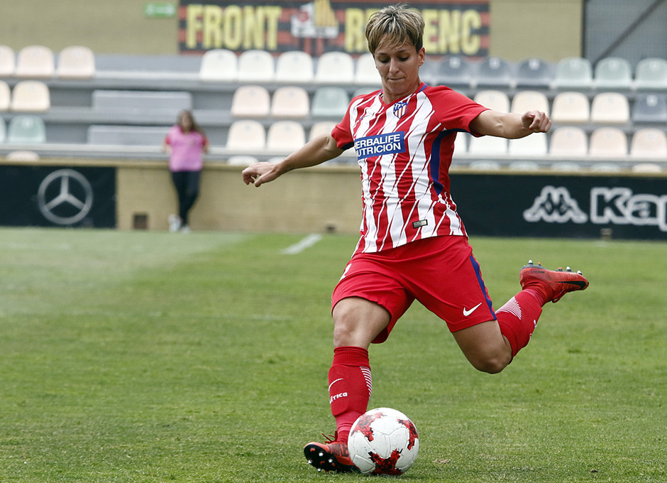 Temp. 17-18 | UD Granadilla Tenerife - Atlético de Madrid Femenino | Semifinal de la Copa de la Reina | Marta Corredera