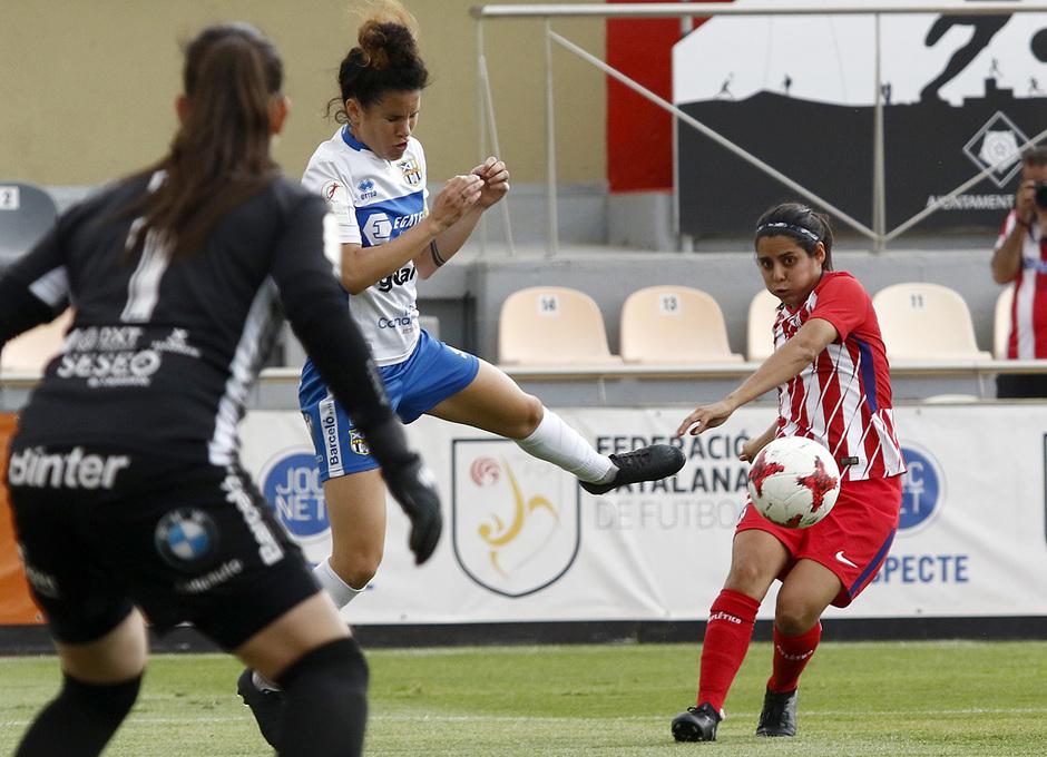 Temp. 17-18 | UD Granadilla Tenerife - Atlético de Madrid Femenino | Semifinal de la Copa de la Reina | Kenti Robles