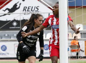 Temp. 17-18 | UD Granadilla Tenerife - Atlético de Madrid Femenino | Semifinal de la Copa de la Reina | Ludmila Da Silva