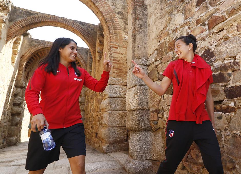 Visita al Teatro y Anfiteatro Romano de Mérida antes de la Final de la Copa de la Reina | Kenti y Kaci