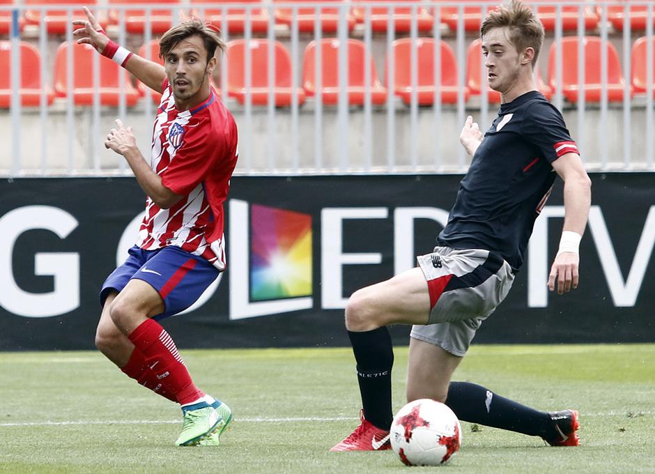 Temporada 17/18 | Copa del Rey Juvenil, semifinal | Atlético - Athletic | Óscar Clemente