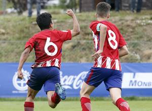 Wanda Football Cup | Fran celebra el gol del empate
