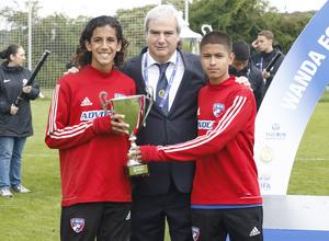 Wanda Football Cup   Entrega de trofeos   Dallas