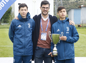 Wanda Football Cup   Entrega de trofeos   Juventus