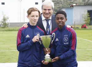 Wanda Football Cup   Entrega de trofeos   Ajax