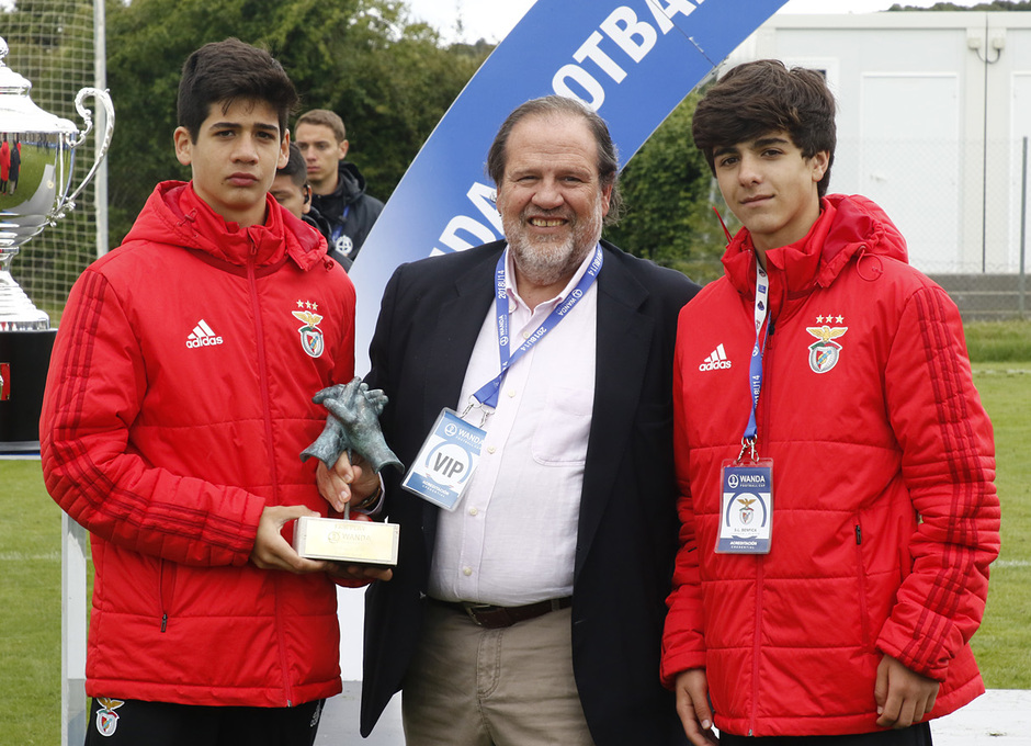 Wanda Football Cup | Entrega de trofeos | Benfica Fair Play