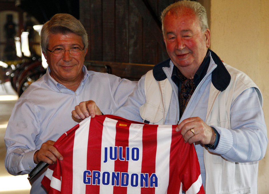 Julio Grondona y Enrique Cerezo