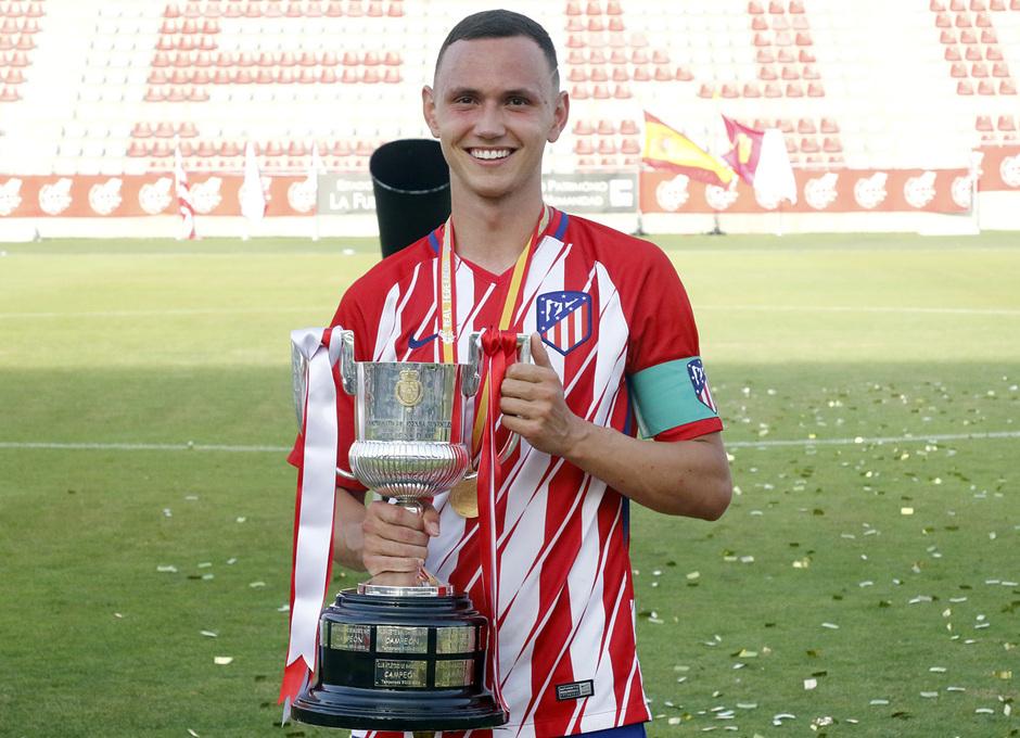Temp. 17-18 | Final Copa del Rey Juvenil | Celebración
