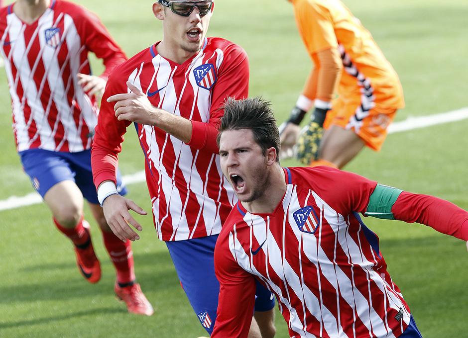 GALERÍA JUVENIL A TRICAMPEÓN: 7 | JC celebra un gol ante el Valladolid
