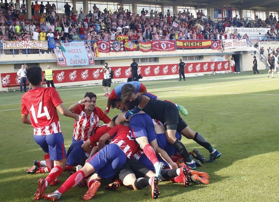 GALERÍA JUVENIL A TRICAMPEÓN: 28, Final de Copa del Rey
