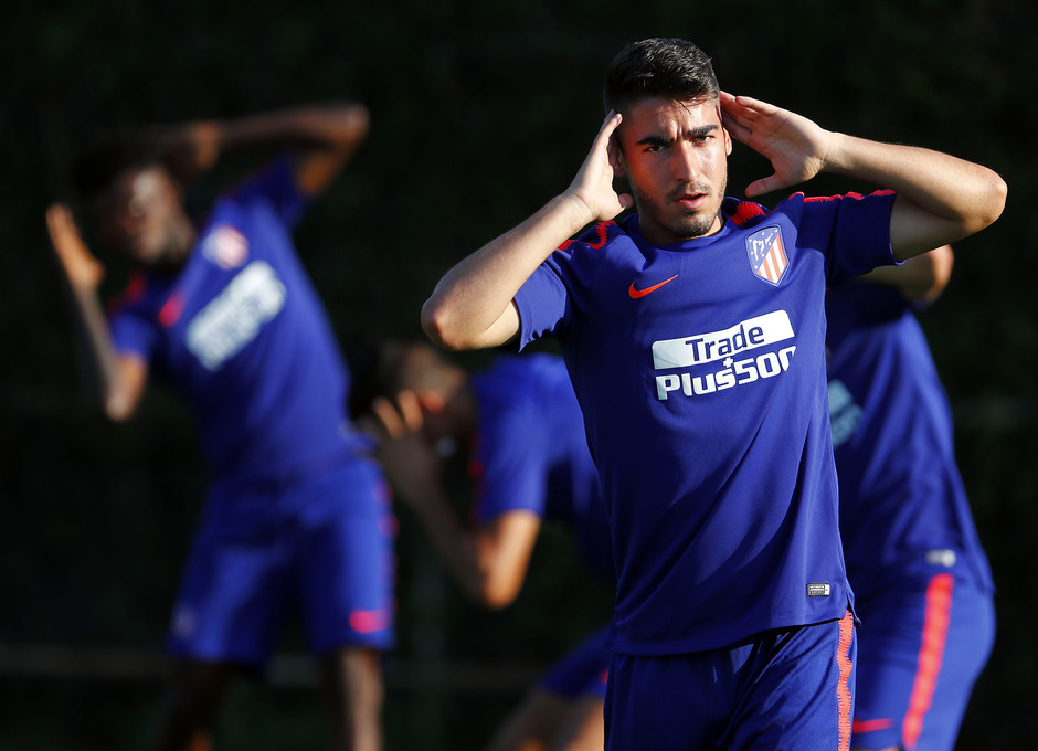 Temporada 18/19. Entrenamiento en la ciudad deportiva Wanda Atlético de Madrid. 13_07_2018. Toni Moya.