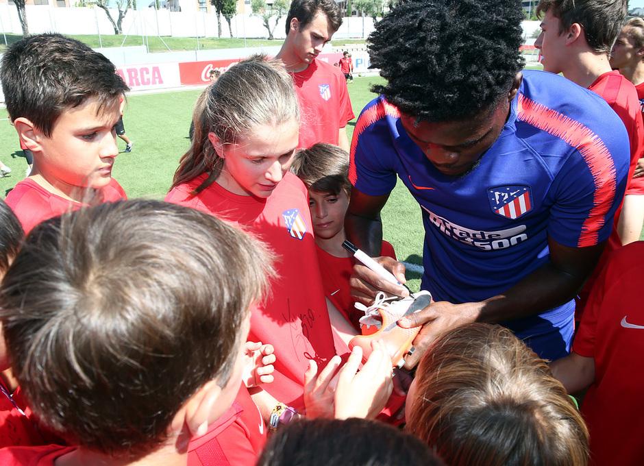 Clinic de verano de la Fundación Atlético de Madrid | ´Thomas Partey
