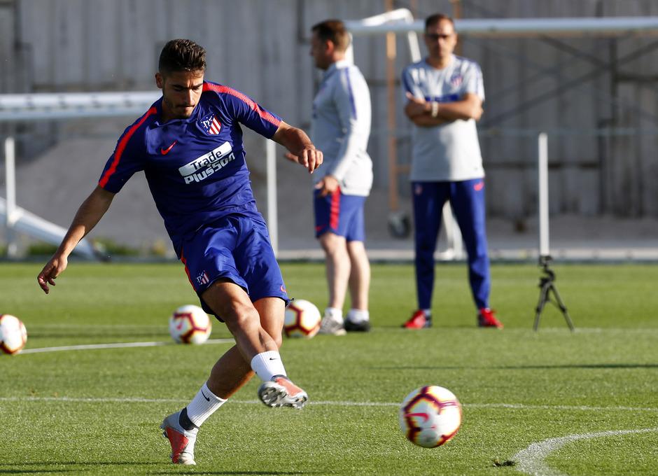 Temporada 18/19. Entrenamiento en la ciudad deportiva Wanda Atlético de Madrid. 21_07_2018. Tony Moya.