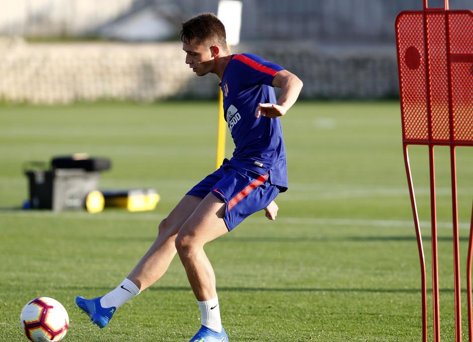 Temporada 18/19. Entrenamiento en la ciudad deportiva Wanda Atlético de Madrid. 21_07_2018. Borja Garcés.