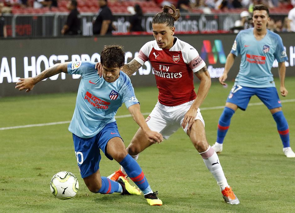 Temporada 2018-2019 | ICC Singapur  | Atlético de Madrid - Arsenal | Olabe