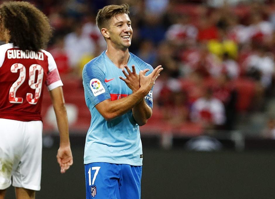 Temporada 2018-2019 | ICC Singapur  | Atlético de Madrid - Arsenal | Vietto celebración