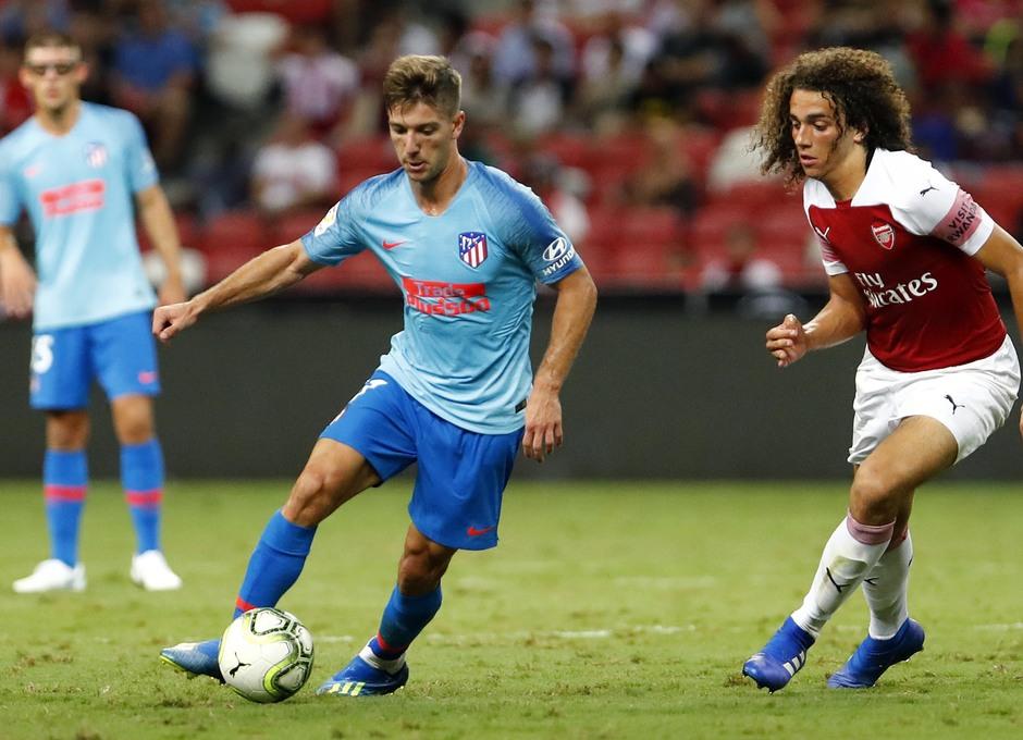 Temporada 2018-2019 | ICC Singapur  | Atlético de Madrid - Arsenal | Luciano Vietto