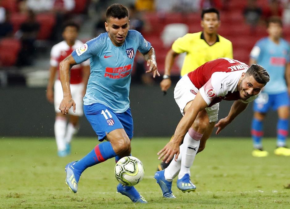 Temporada 2018-2019 | ICC Singapur  | Atlético de Madrid - Arsenal | Ángel Correa 11