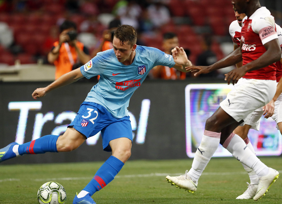 Temporada 2018-2019 | ICC Singapur | Atlético de Madrid - Arsenal | Borja