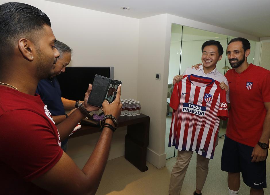 Temporada 18/19 | Meet&Greet en Singapur
