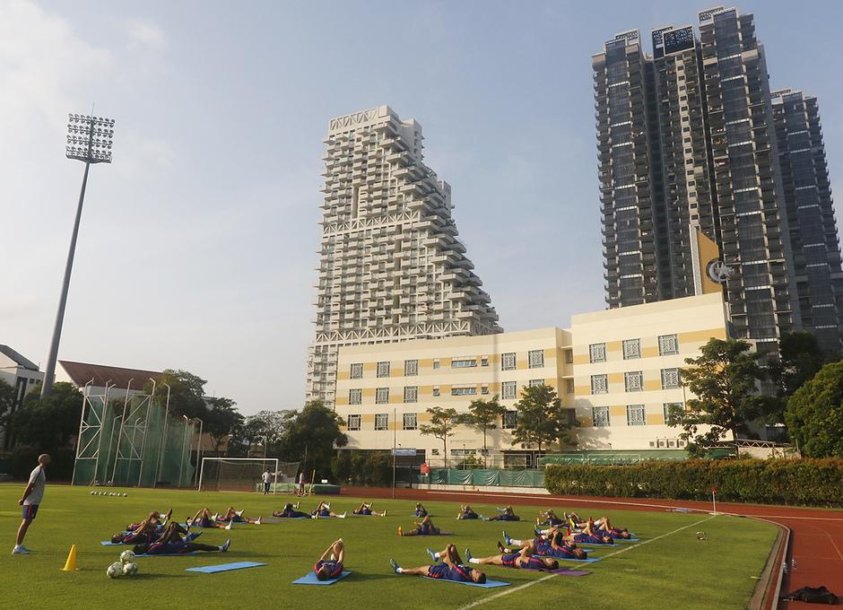 Temporada 18/19 | Entrenamiento en Singapur |