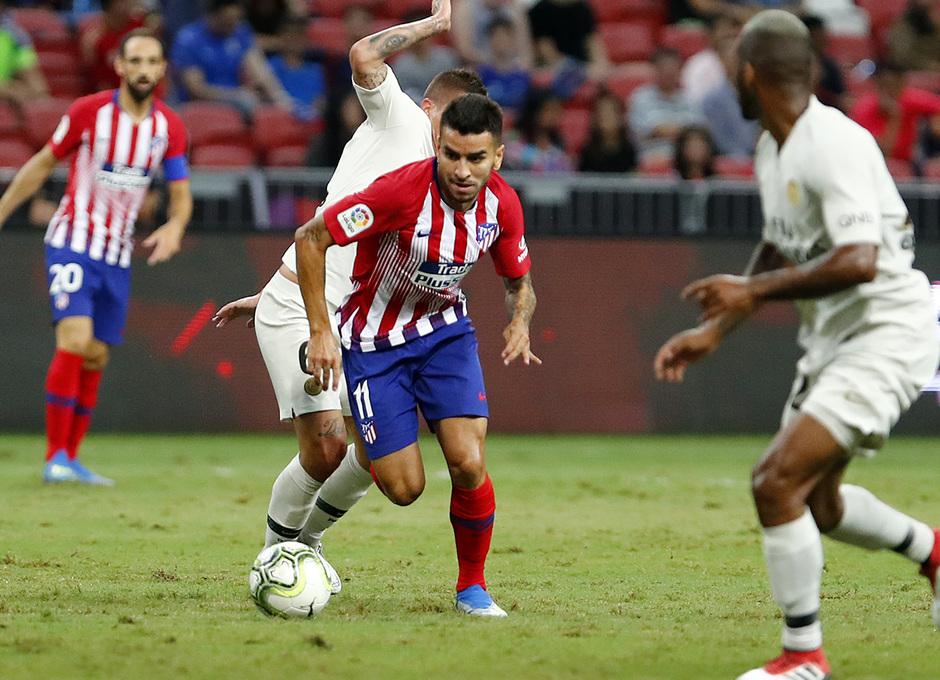 Temporada 2018-2019 | ICC Singapur | PSG - Atlético de Madrid | Grupo | Ángel Correa